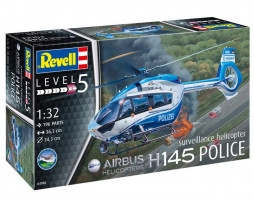 Airbus H145 Police suveillance helicopter  1/32
