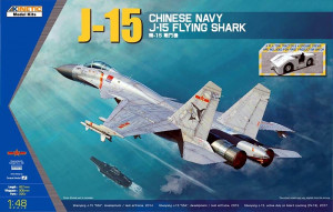 J-15 Chinese Naval Fighter 1/48 Kinetic