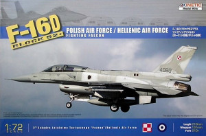 F-16 D52+ Fighting Falcon 1/72 Kinetic