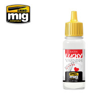 Lak polomatný MIG Lucky Varnish Satin 17 ml