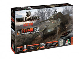 P26 / 40 WoT CD World of Tanks limit. ed. 1/35