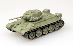 T-34/76 Model 1943 hotový model 1/72 Easy Model