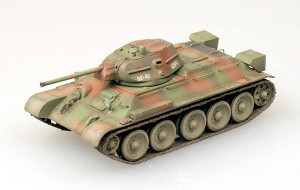 T-34/76 Model 1942 hotový model 1/72 Easy Model
