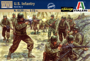 American Infantry WWII 1/72