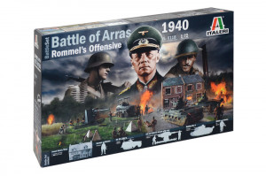 Battle of Arras 1940 diorama set 1/72