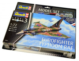 Eurofighter Typhoon RAF 100th Anniversary Model Set 1/72