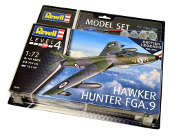 Hawker Hunter FGA.9 100th Anniversary Model Set 1/72
