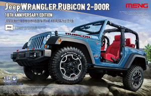 Jeep Wrangler Rubicon 2-Door 10th Anniversary Edition 1/24 Meng CS-003