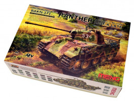 Pz.Kpfw. V Panther Ausf. A Late 1/35 Meng TS-035