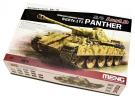 Pz.Kpfw. V Panther Ausf. D Late 1/35 Meng TS-038