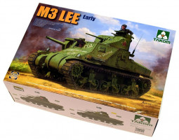 M3 Lee US Medium Tank Early 1/35 Takom
