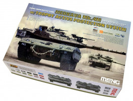 Merkava Mk.4M w/Trophy Active Protection System 1/35 Meng