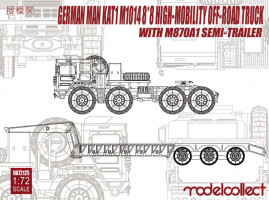 MAN KATM1014 8x8 HIGH-Mobility off-road truck 1/72