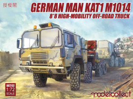 MAN KAT1M1014 8x8 HIGH-Mobility off-road truck 1/72