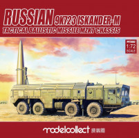 9K720 Iskander-M Tactical ballis mis. MZKT pre-painted Kit 1/72