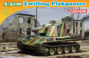5.5cm Zwilling Flakpanzer 1/72 Dragon