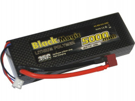 Akumulátor Black Magic Car LiPol 5000mAh/7,4V 35C