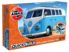VW Camper Van - Blue Quickbuild