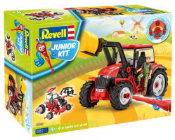 Tractor with loader incl. figure Junior Kit 1/20