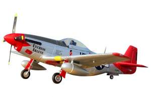 "P-51D Mustang ""Red Tail"" V8 1450mm EPP ARF FMS"