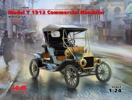 Ford T 1912 Commercial Roadster,America Car 1/24 ICM