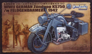 Zundapp KS 750 /w Feldgen.42 1/35 Great Wall Hobby