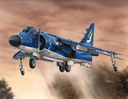 Sea Harrier FA.2 Hi-tech 1/72 Special Hobby
