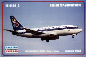 Boeing 737-200 Olympic 1/144 Eastern Express