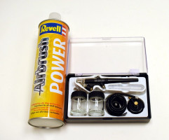 Starter set ChroMax str. pištoľ BD-138K 0,3mm + tl. fľaša 750ml