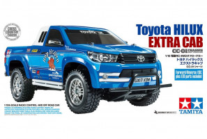 Toyota Hilux Extra Cab CC-01 4WD 1/10 KIT