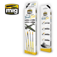 Sada štetcov MIG Panel Lines & Fading Brush Set 4 ks