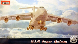 Lockheed C-5M Super Galaxy 1/144 Roden