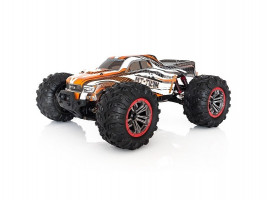 Funtek RC MT-TWIN 4WD Monster truck oranžový 1/10 RTR