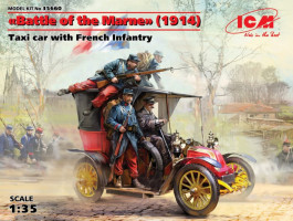 Battle of the Marne(1914),Taxi car wit French Infantry 1/35