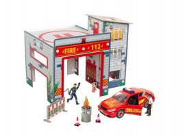 Fire Station Playset Junior Kit 1/20