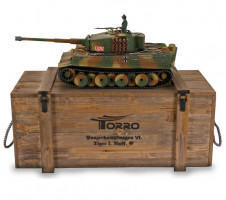 Pz.Kpfw. VI Tiger middle production 1/16 RTR PRO IR Torro