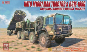 M1013 MAN Tractor & BGM-109G Ground Launched Cruise Missile 1/72