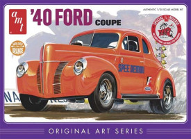 Ford Coupe 1940 Original Arts Series 1/25 AMT