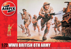 British Infantry / 8th Army 1/72