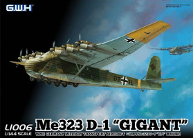 Messerschmitt Me 323 D-1 Gigant 1/144 Lion Roar Great Wall Hobby