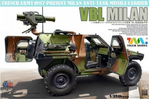 VBL with Milan Anti-Tank Missile Launcher 1/35 Tiger Model