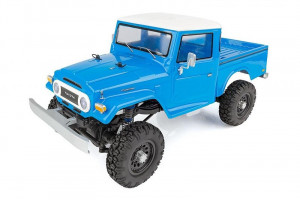 Team Associated RC CR12 Toyota FJ45 Pick-Up 4WD modrý 1/12 RTR