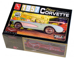 Chevy Corvette, Cidy Lewis Car culture ´1957 1/25 AMT