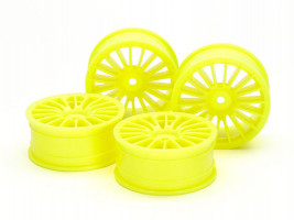 Disky kolies 24mm 18-Spk Wheels 0 FlYel *4 1/10 4ks