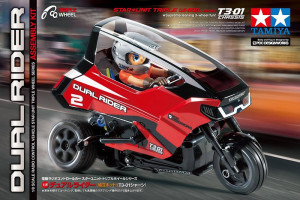 Tamiya RC Star Unit Dual Rider T3-01 nenafarbená 1/8 KIT