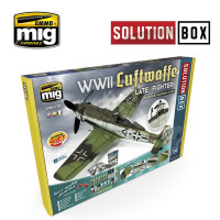 Sada WW2 Luftwaffe Late Fighters Solution Box