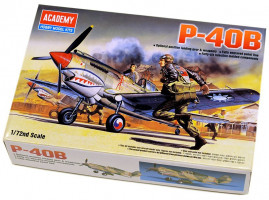 Curtiss P-40 B Tomahawk 1/72 Academy