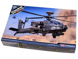 AH-64 D Block II Late version US ARMY 1/72 Academy