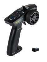 Vysielač Carson Reflex Wheel Start 3ch black 2,4GHz