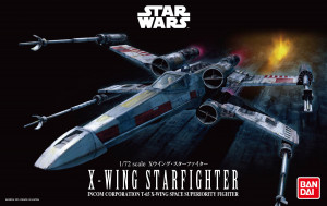 X-Wing Starfighter Star Wars (Bandai) 1/72